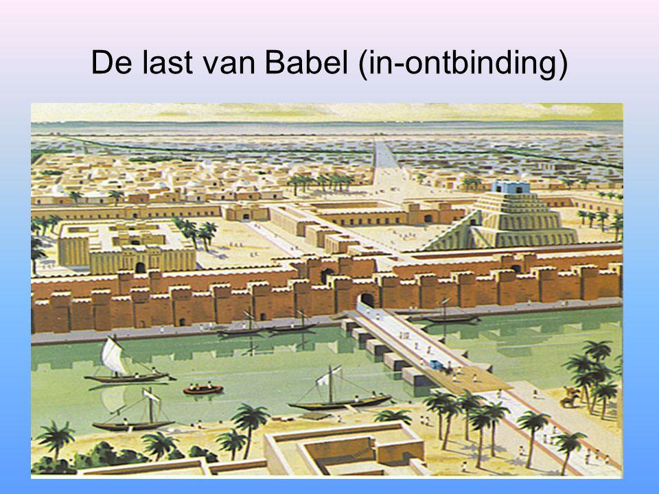 De last van Babel (in-ontbinding)