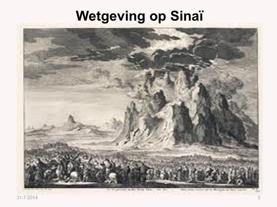 31-7-20145 Wetgeving op Sinaï