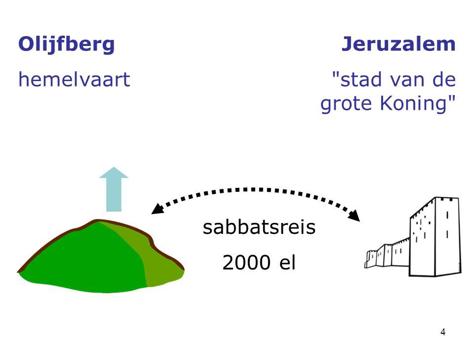 4 Olijfberg hemelvaart Jeruzalem stad van de grote Koning sabbatsreis 2000 el