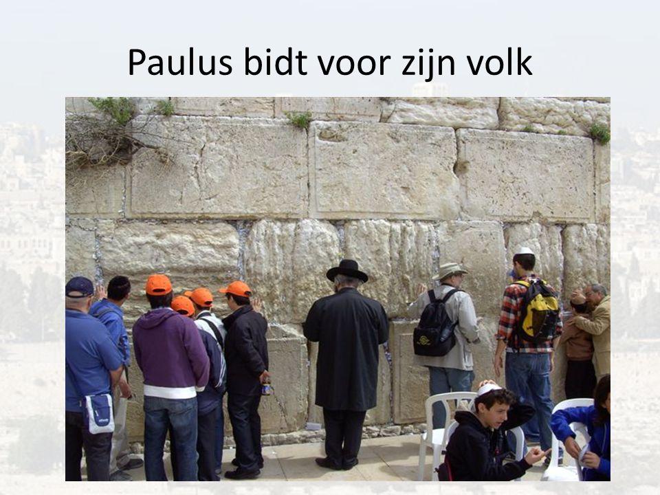 Paulus bidt voor zijn volk