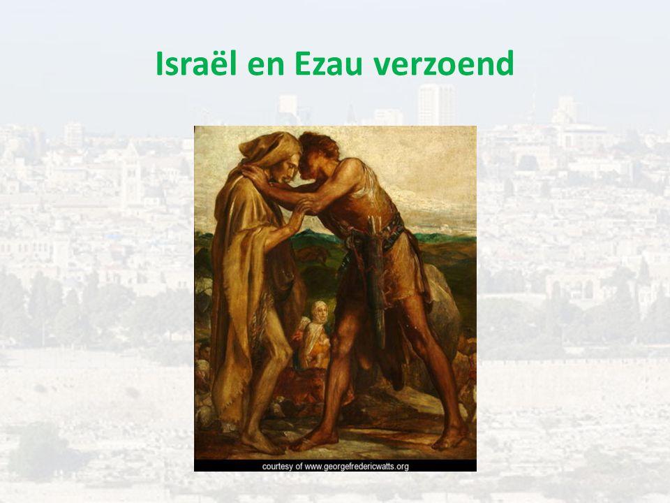 Israël en Ezau verzoend