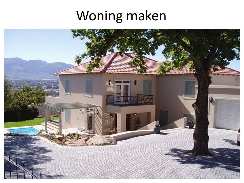 Woning maken