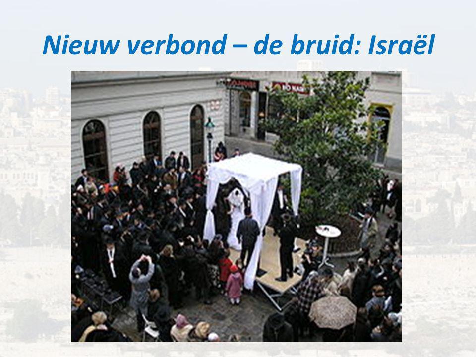 Nieuw verbond – de bruid: Israël