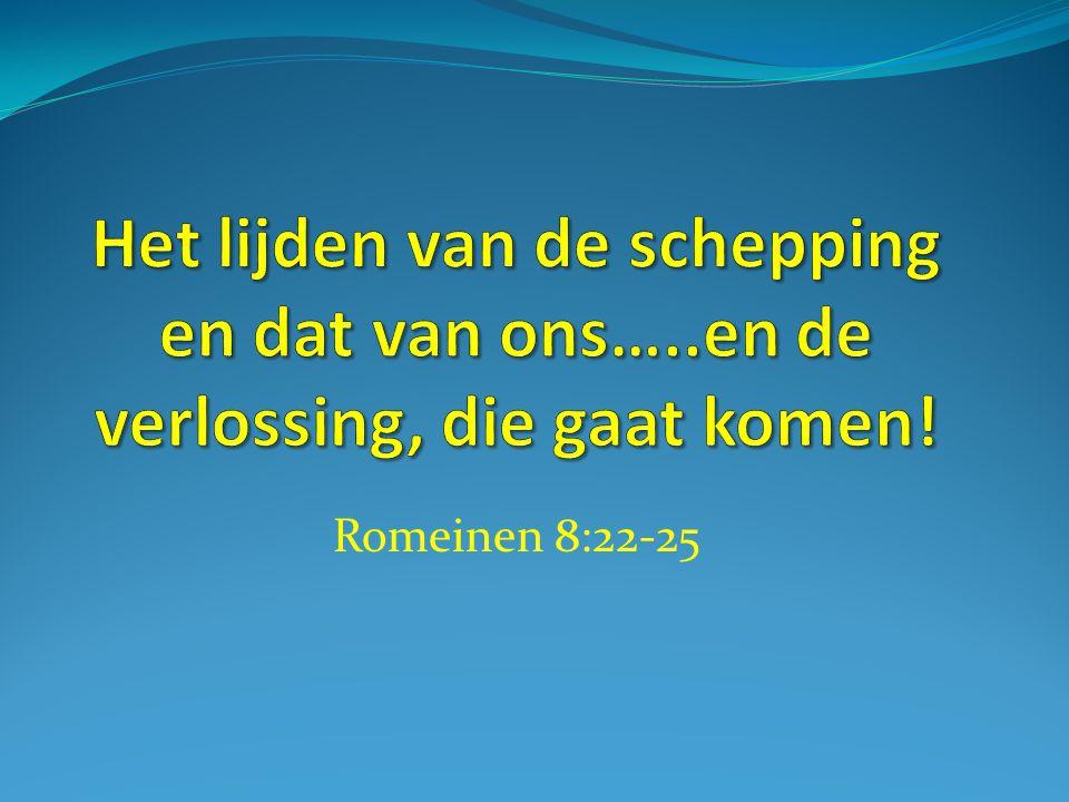 Romeinen 8:22-25