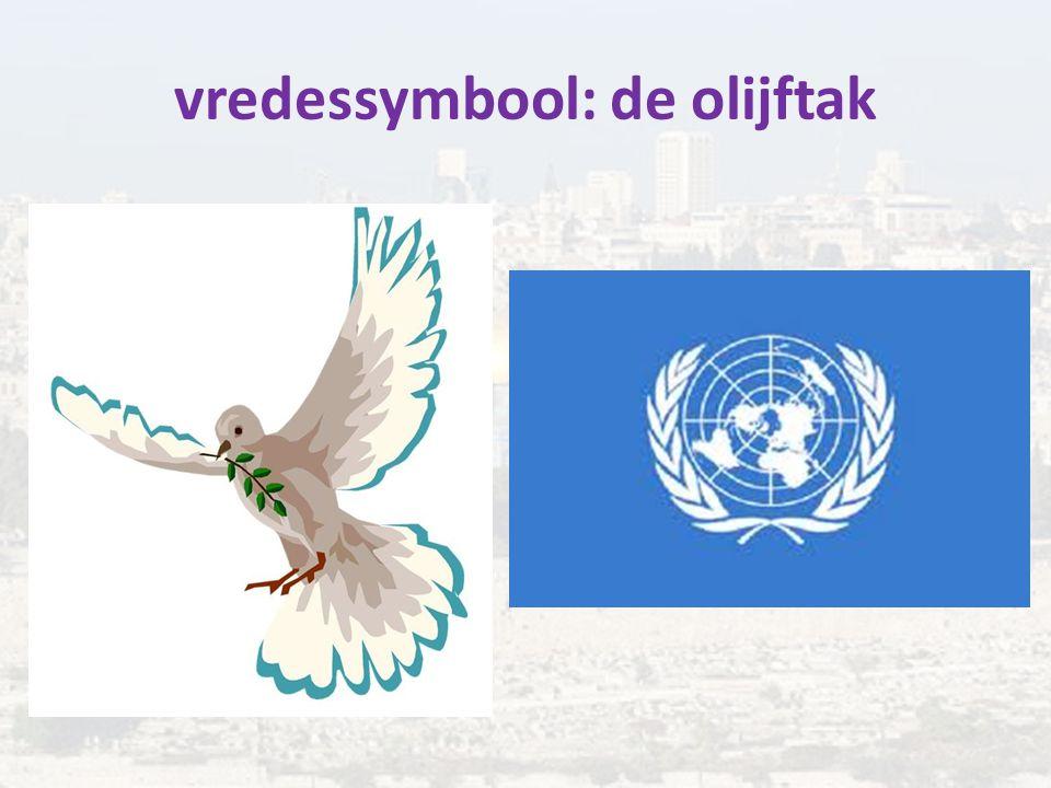 vredessymbool: de olijftak