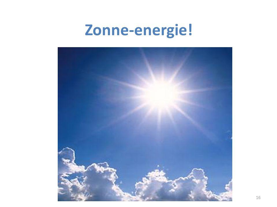 16 Zonne-energie!