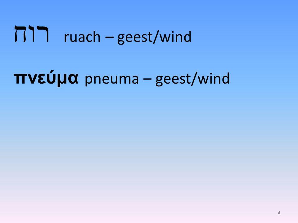 רוח 5 ruiken Genesis 8:21