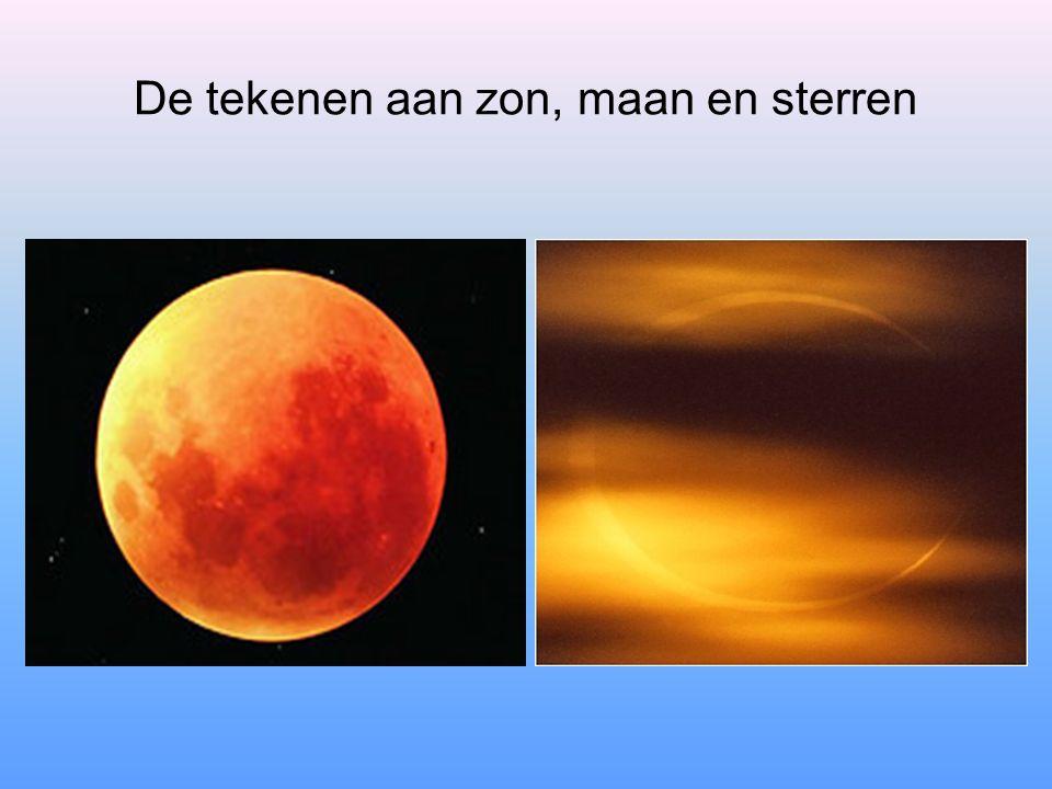De tekenen aan zon, maan en sterren