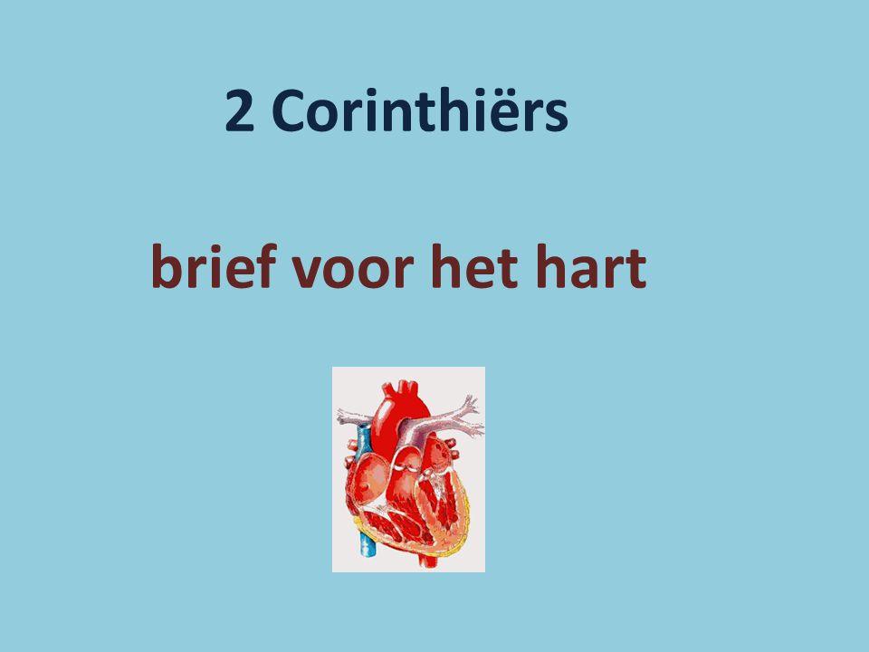 2 Corinthiërs brief voor het hart