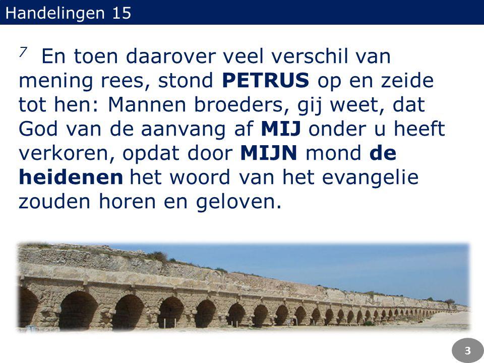 Petrus was de eerste prediker aan heidenen...Petrus was de eerste prediker aan heidenen...