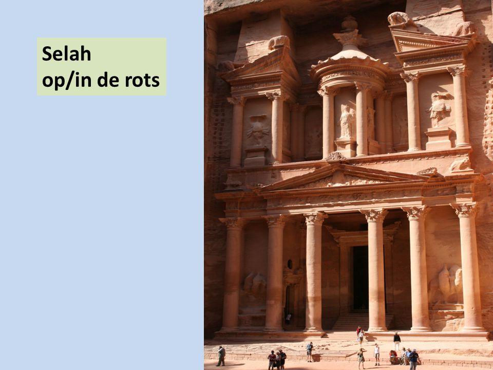 Selah op/in de rots