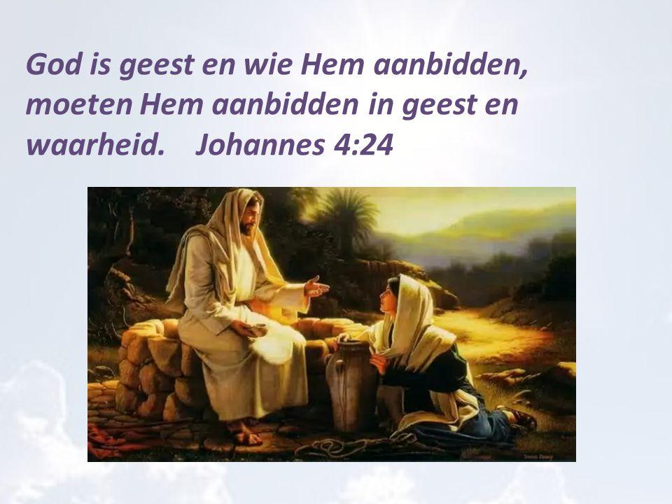 Jezus zei tegen hen: Mijn voedsel is dat Ik de wil doe van Hem die Mij gezonden heeft en Zijn werk volbreng Johannes 4:34