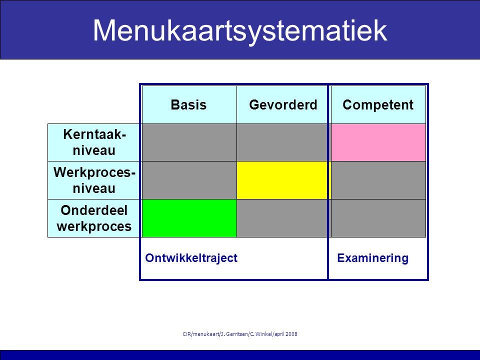 CiR/menukaart/J. Gerritsen/C.