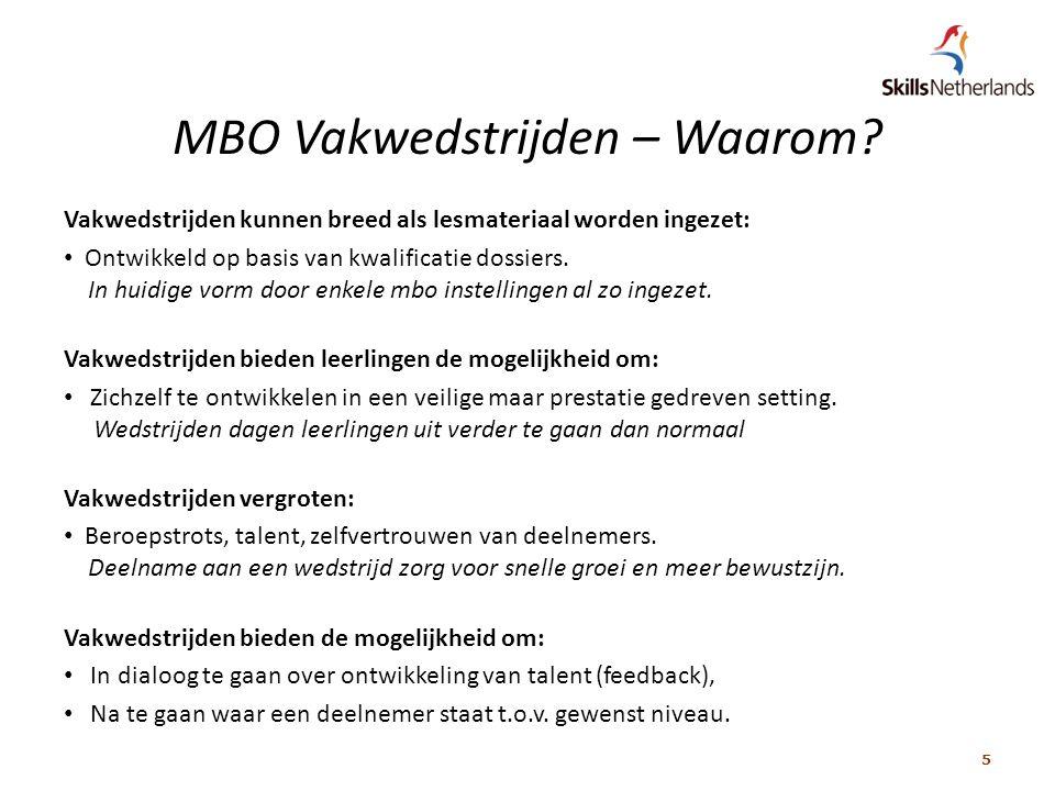 5 MBO Vakwedstrijden – Waarom.