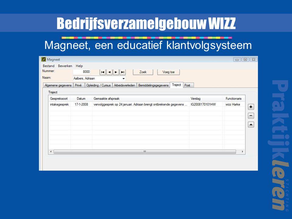 Bedrijfsverzamelgebouw WIZZ Magneet, een educatief klantvolgsysteem