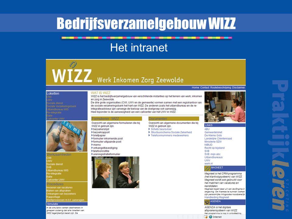Bedrijfsverzamelgebouw WIZZ Het intranet