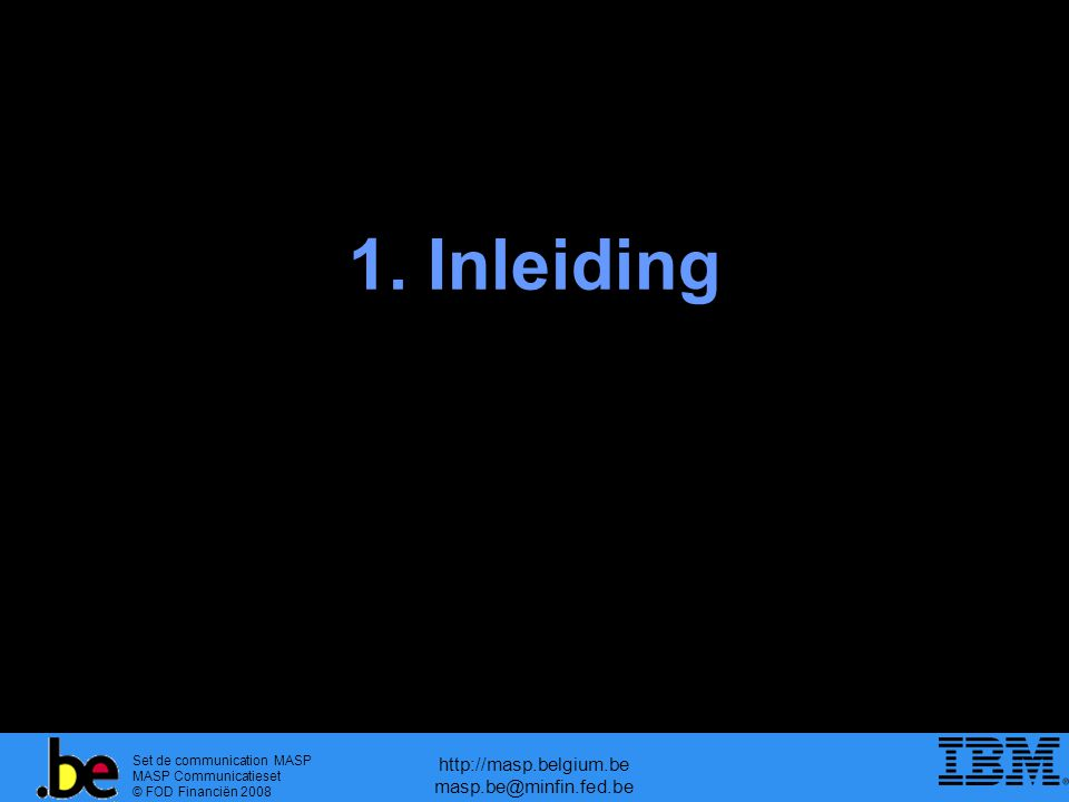 Set de communication MASP MASP Communicatieset © FOD Financiën 2008 http://masp.belgium.be masp.be@minfin.fed.be ECS, fase 2  vereenvoudigde procedures  3 types vereenvoudigde procedures : – Onvolledige aangifte (Art.