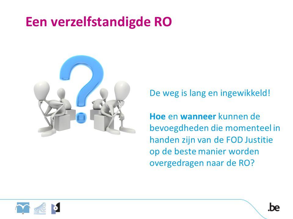 Een verzelfstandigde RO De weg is lang en ingewikkeld.