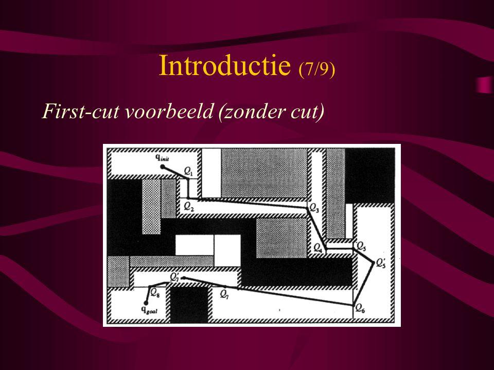 Introductie (7/9) First-cut voorbeeld (zonder cut)