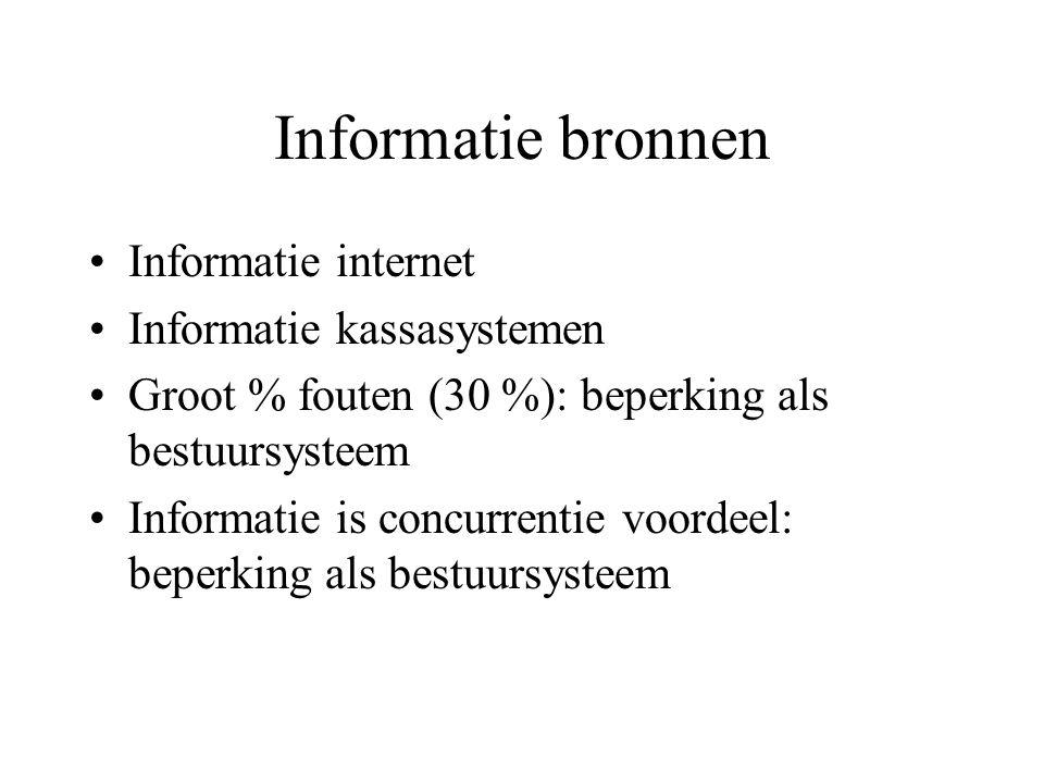 Rol informatie systemen informatie (systemen) i.r.t.