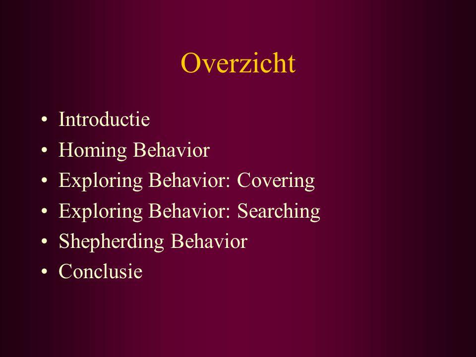 Exploring Behavior: Covering