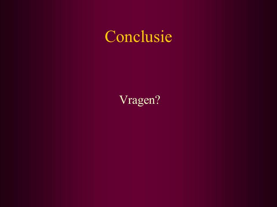 Conclusie Vragen