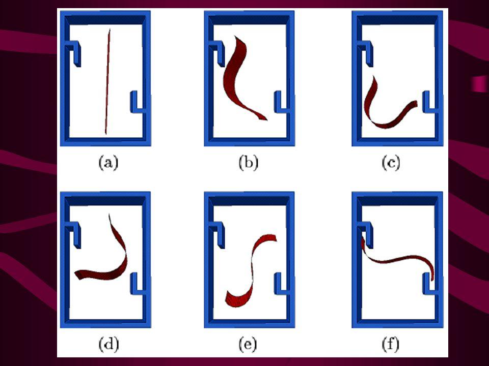 Geometrische representatie Bezier curves Control points afhankelijk van u