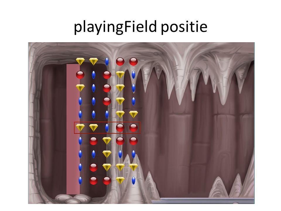 playingField positie