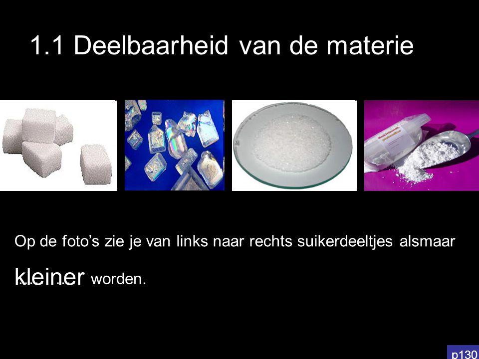 Kleiner dan een molecule Filmpje 1: zie website Filmpje 2: zie website