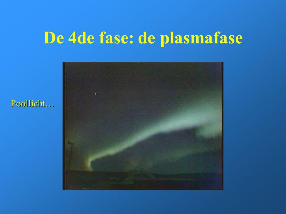 De 4de fase: de plasmafase Poollicht…