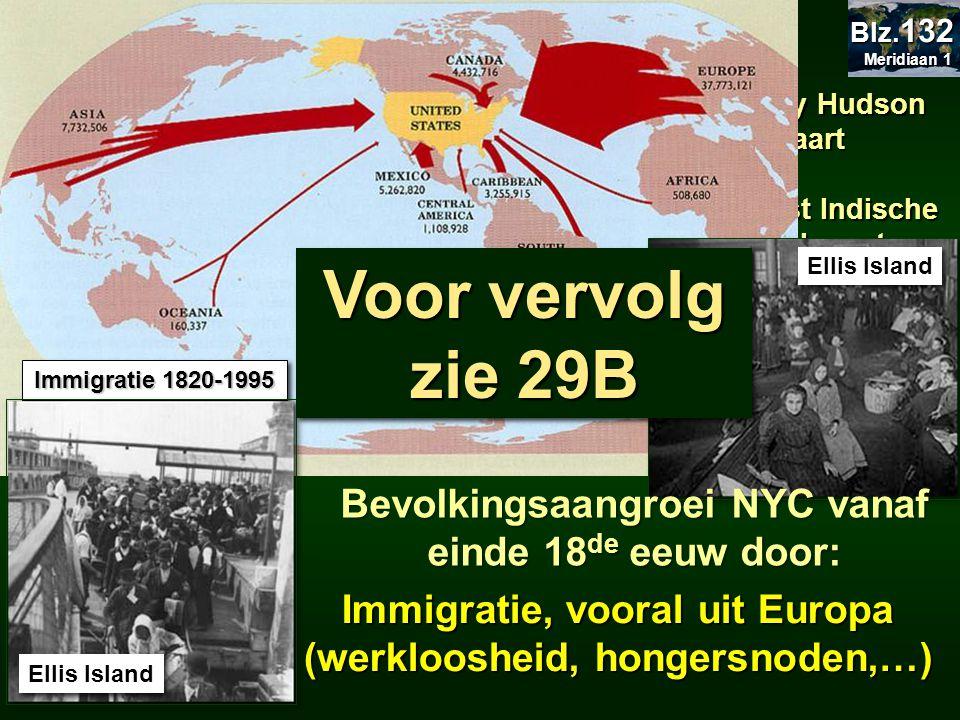 29.2.3 Geschiedenis 29.2.3 Geschiedenis 29.7 Nederlanders in Manhattan 1609: streek door Henry Hudson voor Nederlanders in kaart gebracht. 1624: Neder