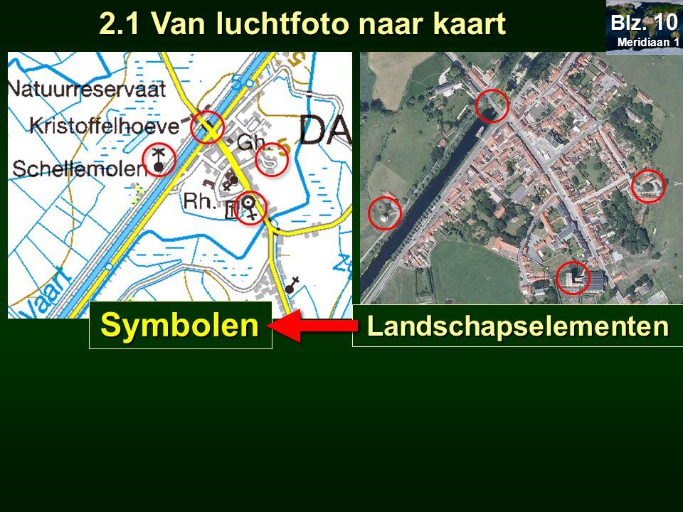 2.2.1 De breukschaal Meridiaan 1 Meridiaan 1 Blz.
