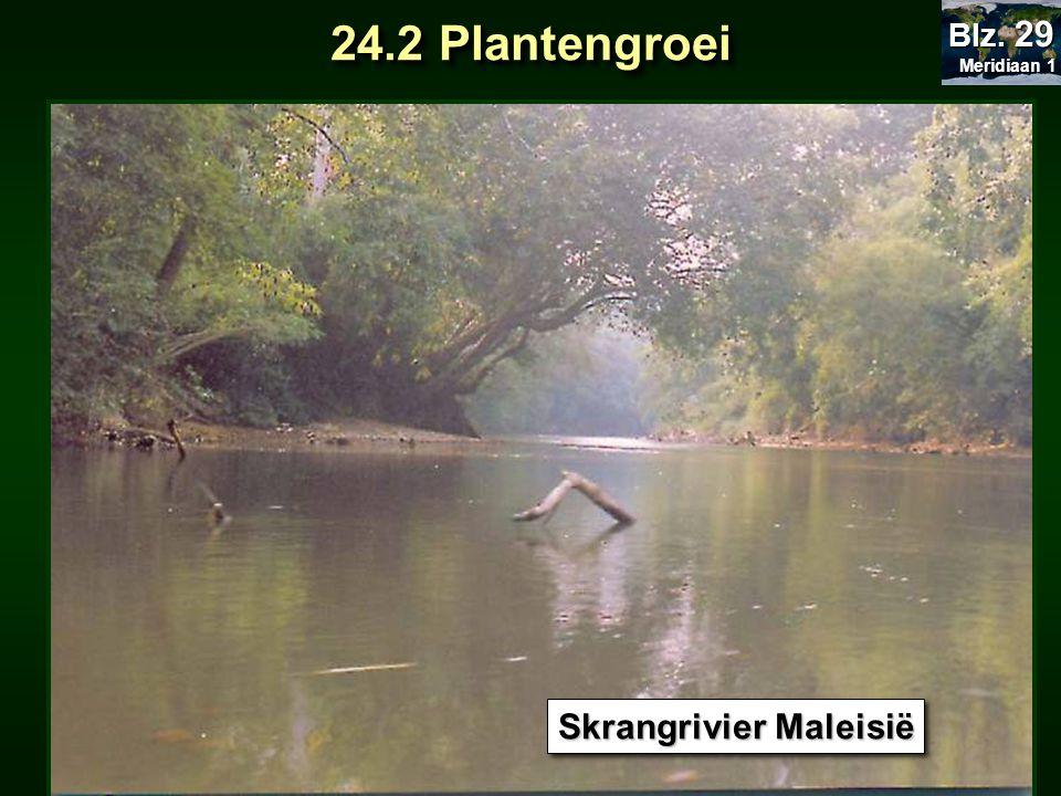 Skrangrivier Maleisië 24.2 Plantengroei Meridiaan 1 Meridiaan 1 Blz. 29