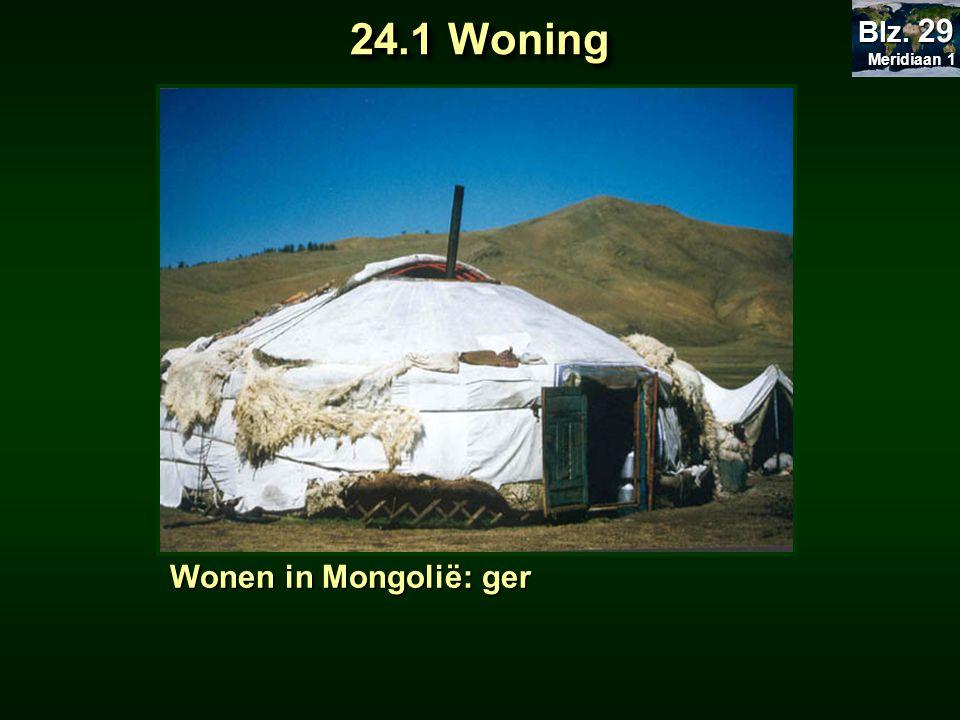 Wonen in Noord-Canada: iglo 24.1 Woning Meridiaan 1 Meridiaan 1 Blz. 29