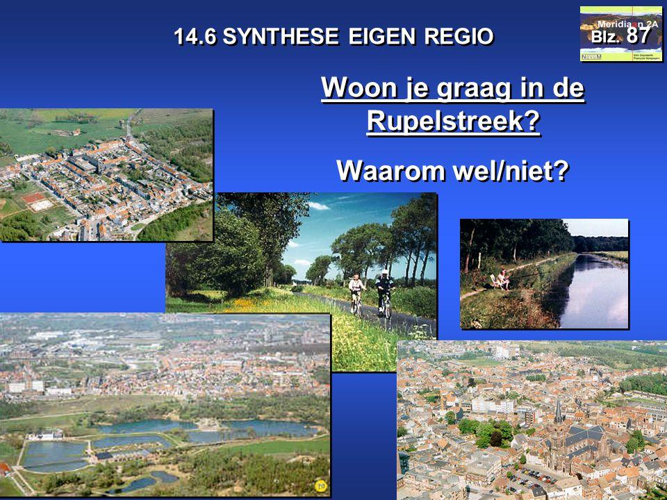 Meridiaan 2A 14.6 SYNTHESE EIGEN REGIO Blz.87 Woon je graag in de Rupelstreek.