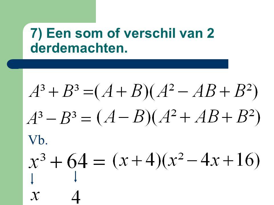 Vb. ontbinden via delers van vorm x - a Door x + 2? Ja,