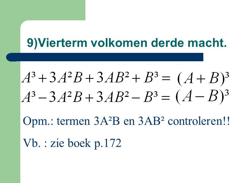 Vb.ontbinden via delers van vorm x - a 3x²-13x+4 Ja, 3x²-13x+4=(x-4)(3x-1) Door x – 4 .