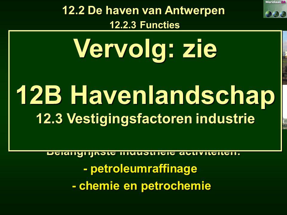 IndustrietakOpp.TewerkstellingPetroleumraffinaderijen 475,4 ha 2 198 Chemie en petrochemie 1 901,9 ha 12 114 Autoassemblage 191,6 ha 8 239 Elektricite
