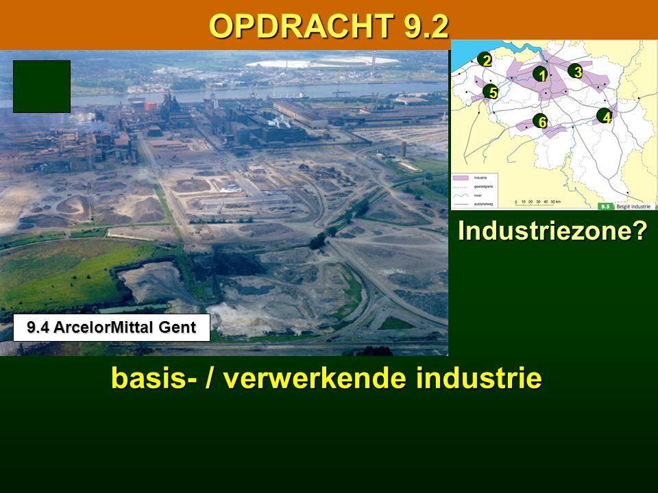 9.1 Facetkaart van de Belgische industrie 9.1 Facetkaart van de Belgische industrie basis- / verwerkende industrie 16.1 Facetkaart van de Europese ind