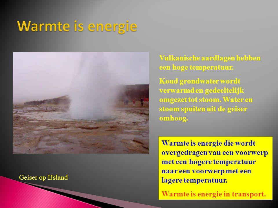 Vulkanische aardlagen hebben een hoge temperatuur. Koud grondwater wordt verwarmd en gedeeltelijk omgezet tot stoom. Water en stoom spuiten uit de gei