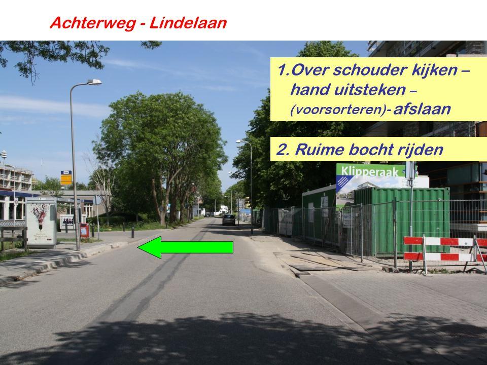 Achterweg - Nieuwveenseweg 3.Eventueel voorrang verlenen 2.