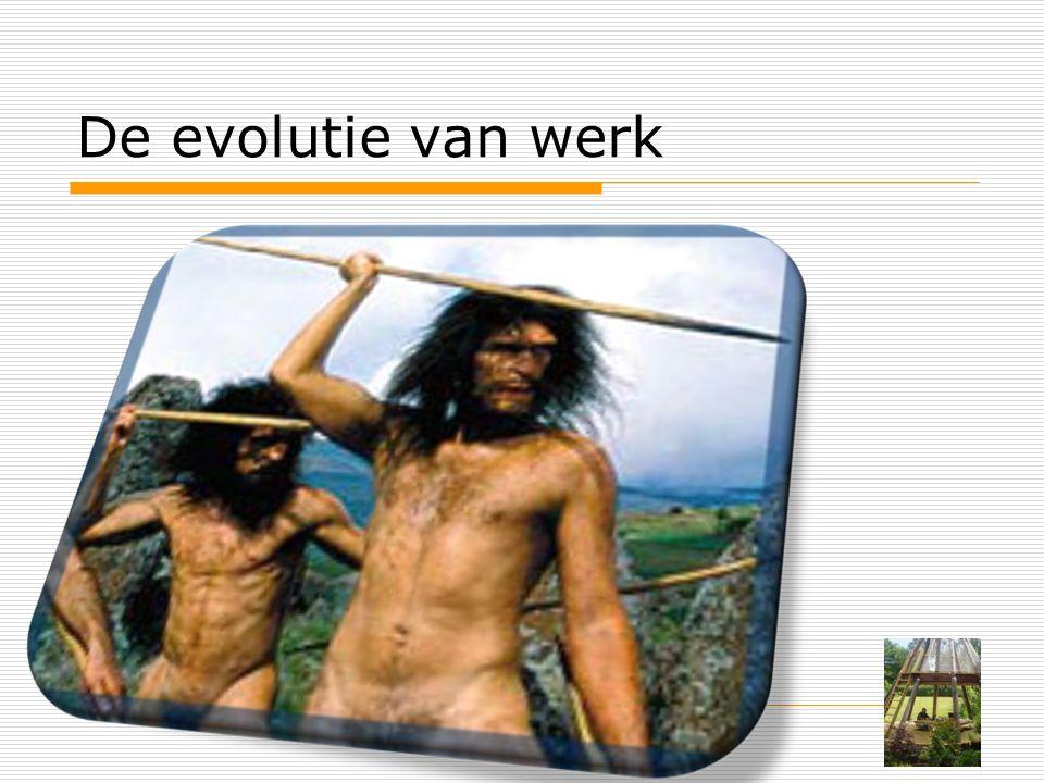 De evolutie van werk