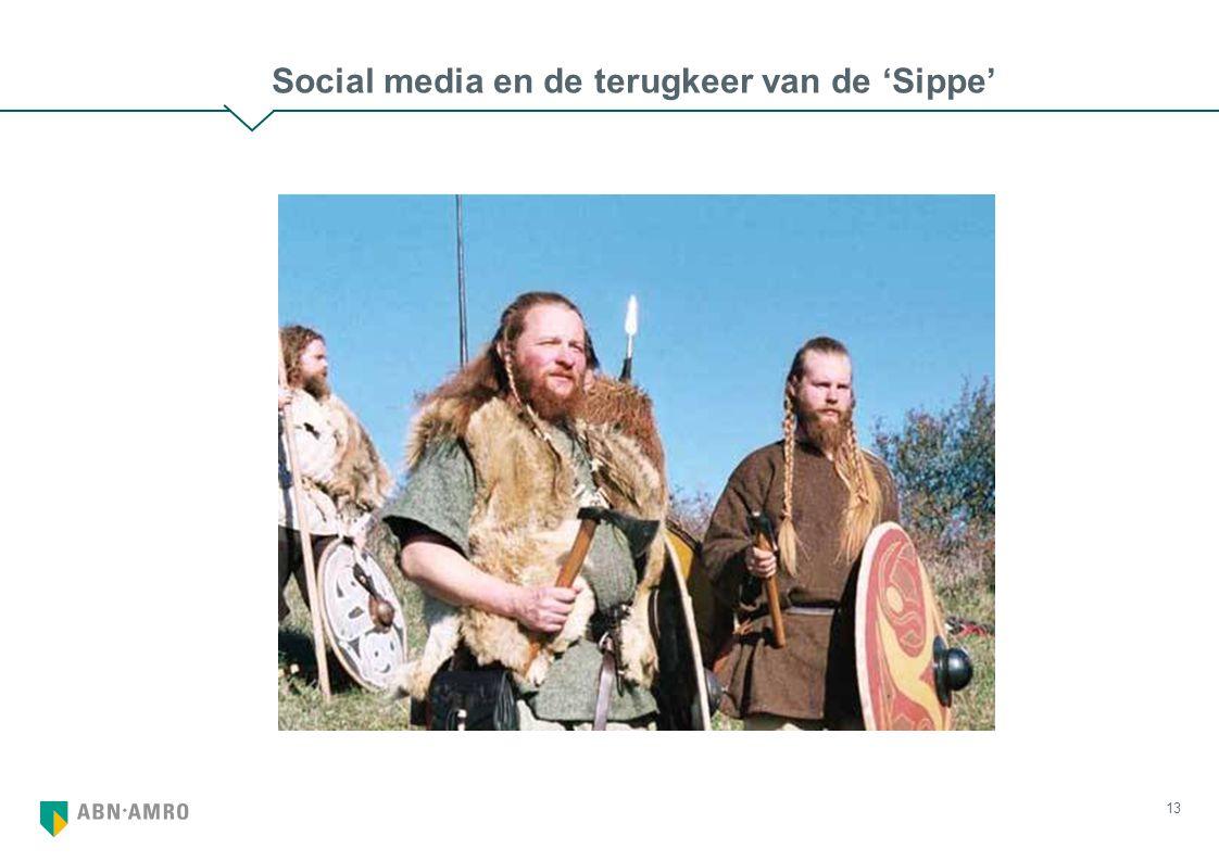 13 Social media en de terugkeer van de 'Sippe'