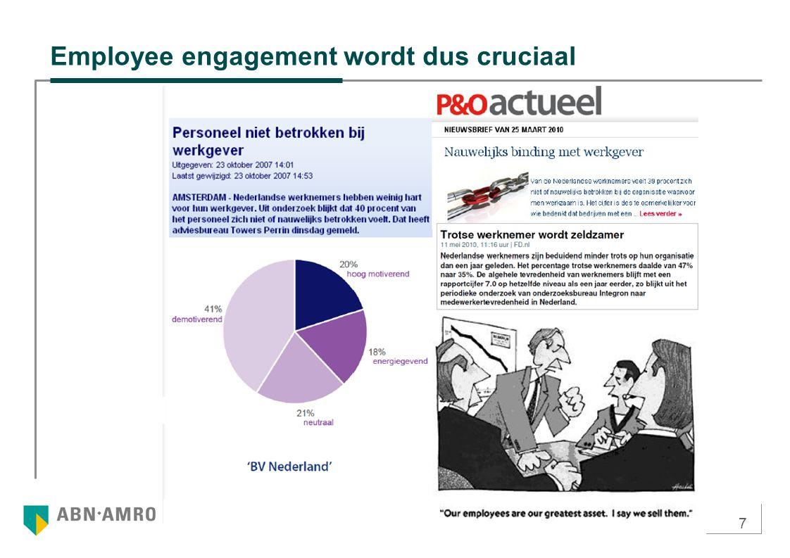 7 Employee engagement wordt dus cruciaal