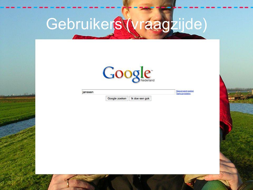 Gebruikers (vraagzijde)