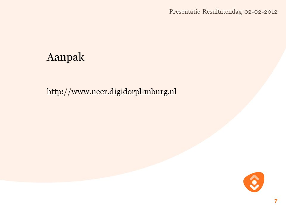 Presentatie Resultatendag 02-02-2012 8