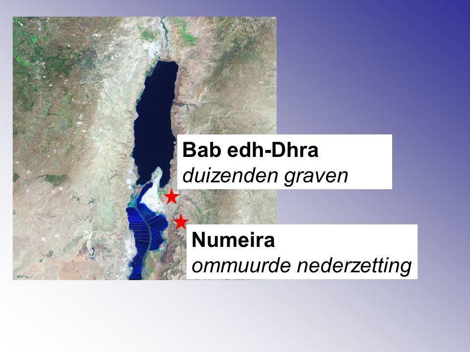 Bab edh-Dhra duizenden graven Numeira ommuurde nederzetting