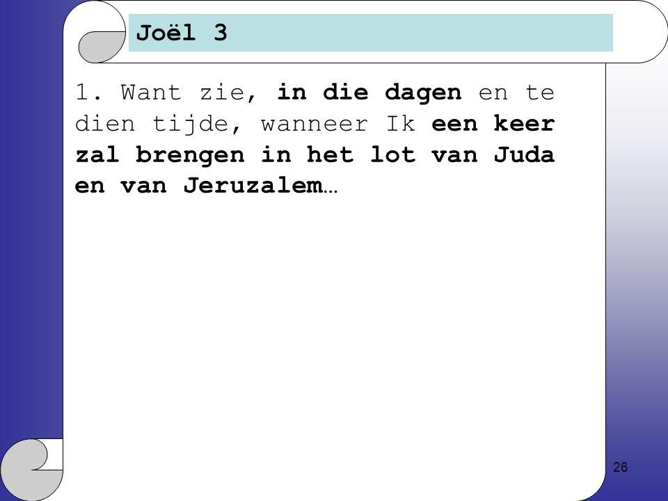 26 Joël 3 1.
