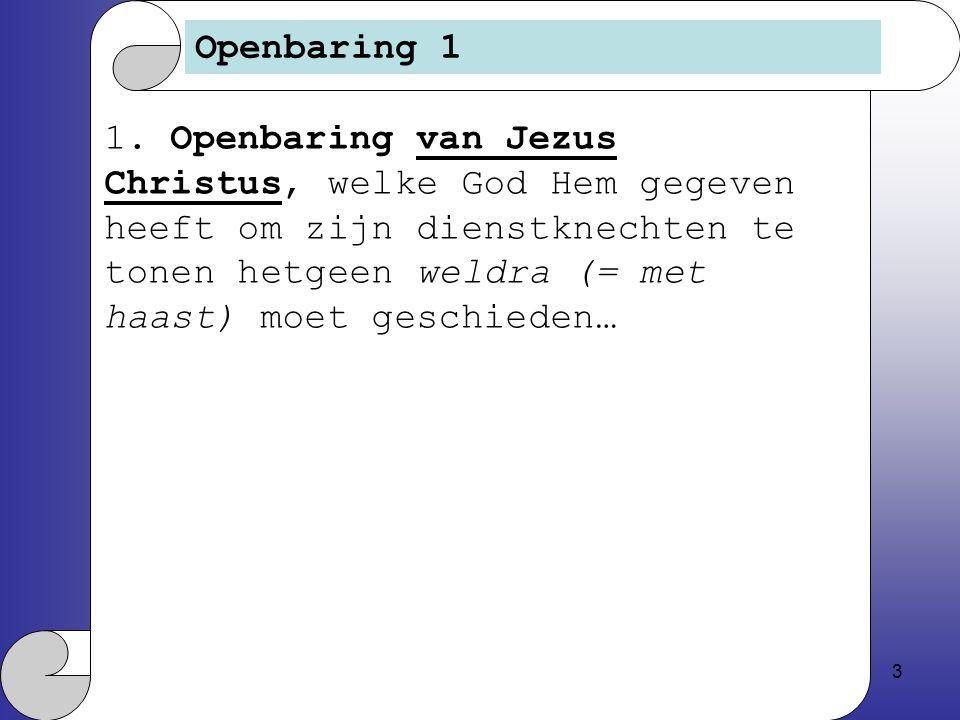 3 Openbaring 1 1.