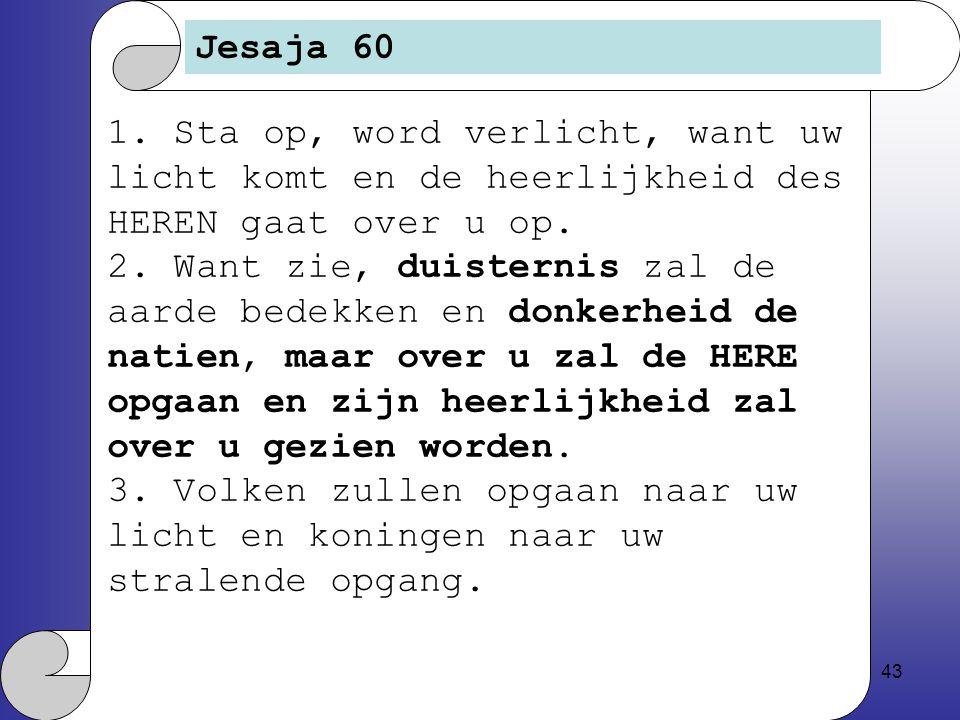 43 Jesaja 60 1.